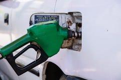 Benzyny napełnianie Zdjęcie Stock