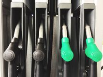 Benzyny pompa Benzynowa stacja - olej napędowy pompa - Zdjęcie Stock