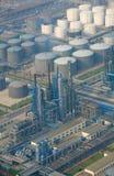 Benzyny strefa przemysłowa Obrazy Stock