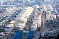 Benzyny strefa przemysłowa Zdjęcie Stock