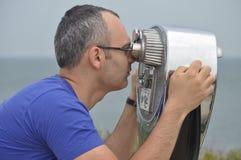 Beobachten des Ozeans Lizenzfreies Stockbild
