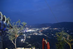 Beobachtung nachts Stockbild