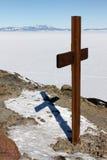 Beobachtungs-Hügel, McMurdo, die Antarktis Stockfoto