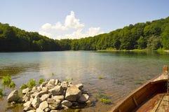 Beogradsko jezero Royaltyfri Fotografi