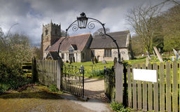 Beoley church Stock Image
