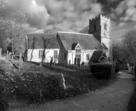 Beoley church Royalty Free Stock Images