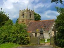 Beoley Kirche lizenzfreies stockbild