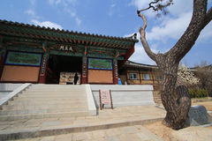 Beomeosa temple in busan Stock Photos