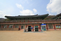 Beomeosa temple in busan Stock Photography