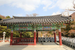 Beomeosa temple in busan Royalty Free Stock Photography