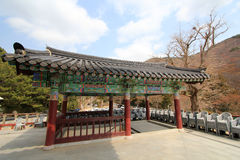 Beomeosa temple in busan Stock Photo