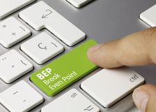 Free BEP Break Even Point - Inscription On Green Keyboard Key Stock Photography - 164570452