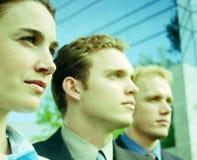Bepaald commercieel team Stock Afbeelding