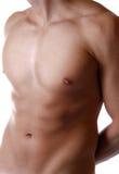 Bepaald mannelijk lichaam stock afbeeldingen