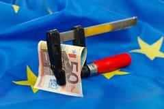 Beperkingen in de Europese Unie Royalty-vrije Stock Foto