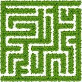 Bepflanzt Labyrinth mit Büschen Lizenzfreie Stockfotografie