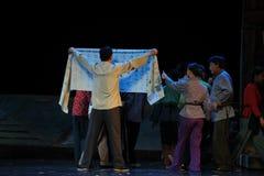 Beplakkend Jiangxi-opera een weeghaak Stock Fotografie