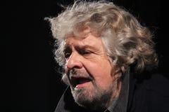 Beppe Grillo ruchu pięć gwiazdy Zdjęcia Royalty Free