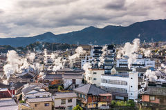 Beppu, Japan-Stadtbild stockfoto