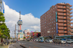 Beppu torn i Oita, Japan Royaltyfri Foto