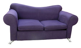 Bequeme alte Couch Stockfotos