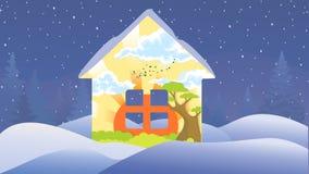 Bequemes Haus Lizenzfreies Stockfoto
