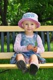 Bequemes Schätzchenkind Stockfotografie