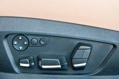 Bequemlichkeit switchs in einem Auto Lizenzfreie Stockfotos