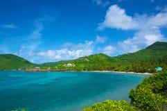 Bequia zatoka Obraz Royalty Free