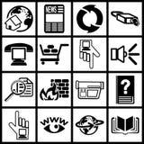 beräknande symbolsinternet Royaltyfria Bilder