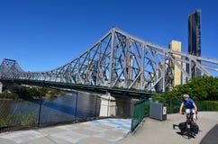 Berättelsebro - Brisbane Queensland Australien Royaltyfri Fotografi