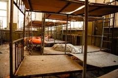 Berçário abandonado em Chernobyl Imagem de Stock