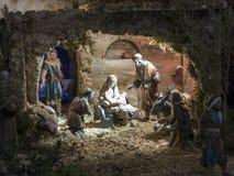 Berçário do Natal fotos de stock royalty free