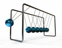 Berço de Newton de equilíbrio das esferas Fotografia de Stock Royalty Free