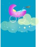 Berço nas nuvens ilustração royalty free