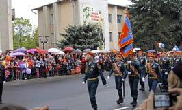 Beröm av den 70Th årsdagen av Victory Day Arkivfoton
