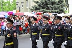 Beröm av den 70Th årsdagen av Victory Day Arkivfoto