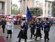 Beröm av den 70Th årsdagen av Victory Day Royaltyfria Bilder