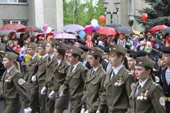 Beröm av den 70Th årsdagen av Victory Day Royaltyfri Bild