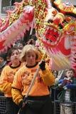 Beröm av det kinesiska nya året Arkivbilder