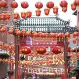 Beröm av det kinesiska nya året Royaltyfria Bilder