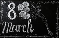 Beröm av mars 8 Arkivfoton