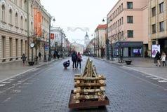 Beröm av självständigheten av Litauen, Arkivfoto