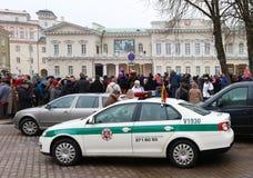 Beröm av självständigheten av Litauen Royaltyfria Bilder