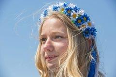 Beröm av Victory Day i Kiev Arkivfoton