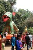 Beröm 1422 Bangladesh för nytt år Arkivfoton