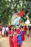 Beröm 1422 Bangladesh för nytt år Fotografering för Bildbyråer