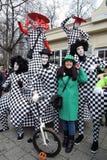 Beröm för dag för St Patrick ` s i Moskva Royaltyfri Fotografi