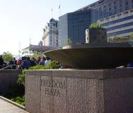 Beröm för DC-frigivningdag Royaltyfri Foto