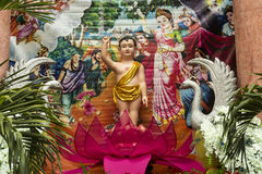 Beröm för födelsedag för Buddha` s Arkivfoto